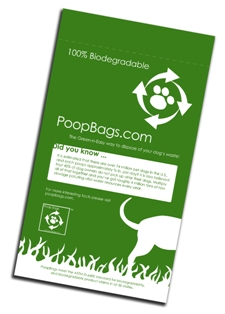 Tall Drink of Nerd: I Love Poop Bags