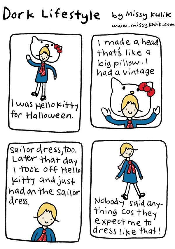 Dork Lifestyle: Hello Kitty Sailor