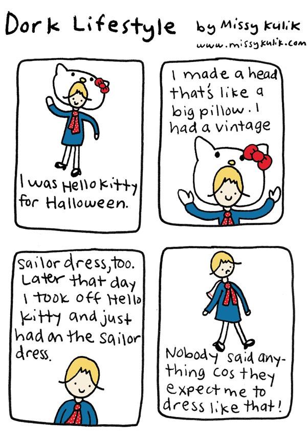 Dork Lifestyle: Hello Kitty Sailor