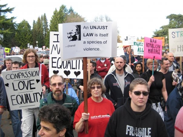 Fierce in Seattle: No Gays For A Day