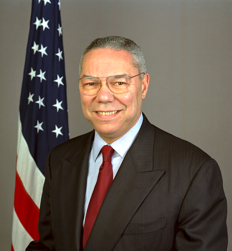 Political Physics: The Colin Powell Dynamic
