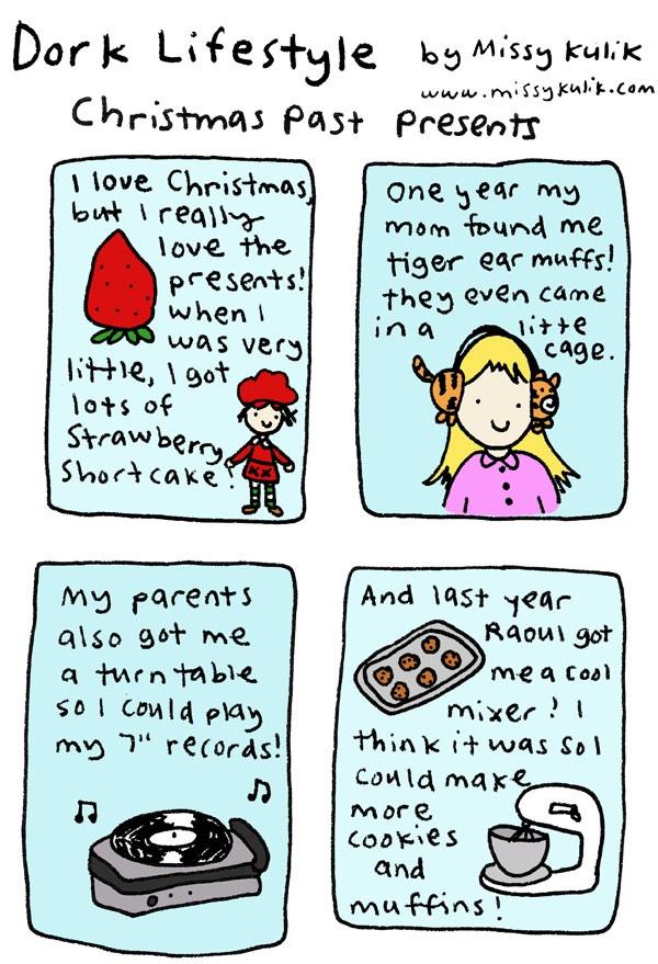 Dork Lifestyle: Christmas Pressies