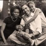 obama_family_2006_xmas_card