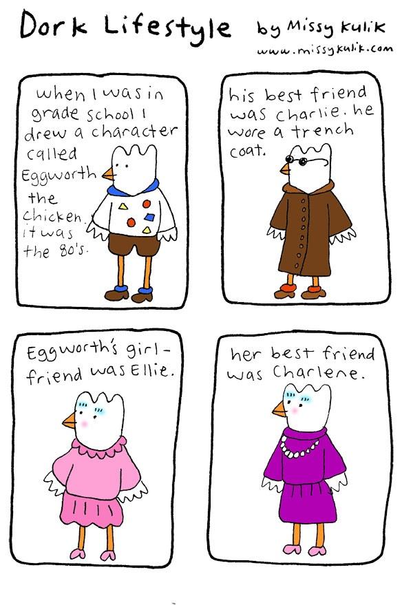 Dork Lifestyle: Eggworth and Friends