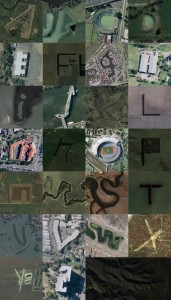 "If you love google maps as much as we do, check out this awesome google map alphabet. And maybe start looking out for overhead letters yourself, b/c dude use a better ""Z."" Click on the pic for the backstory."
