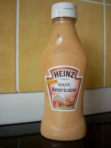 Thank goodness they have American Sauce here. I would be so lost without it.