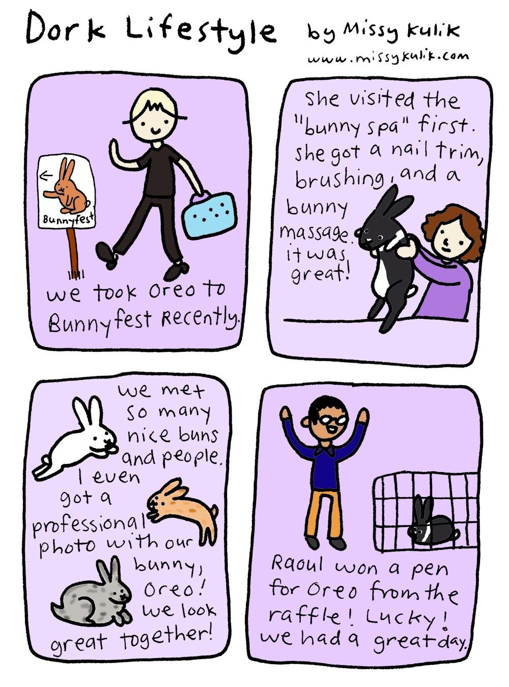 Dork Lifestyle: Bunnyfest