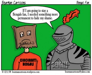 A comic from 2008 when they weren't doing so hot. Credit: Bearman Cartoons