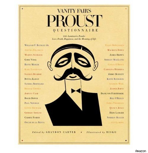 Oh, It's Tuesday: What is Your Idea of Perfect Happiness? [Proust Questionnaire]