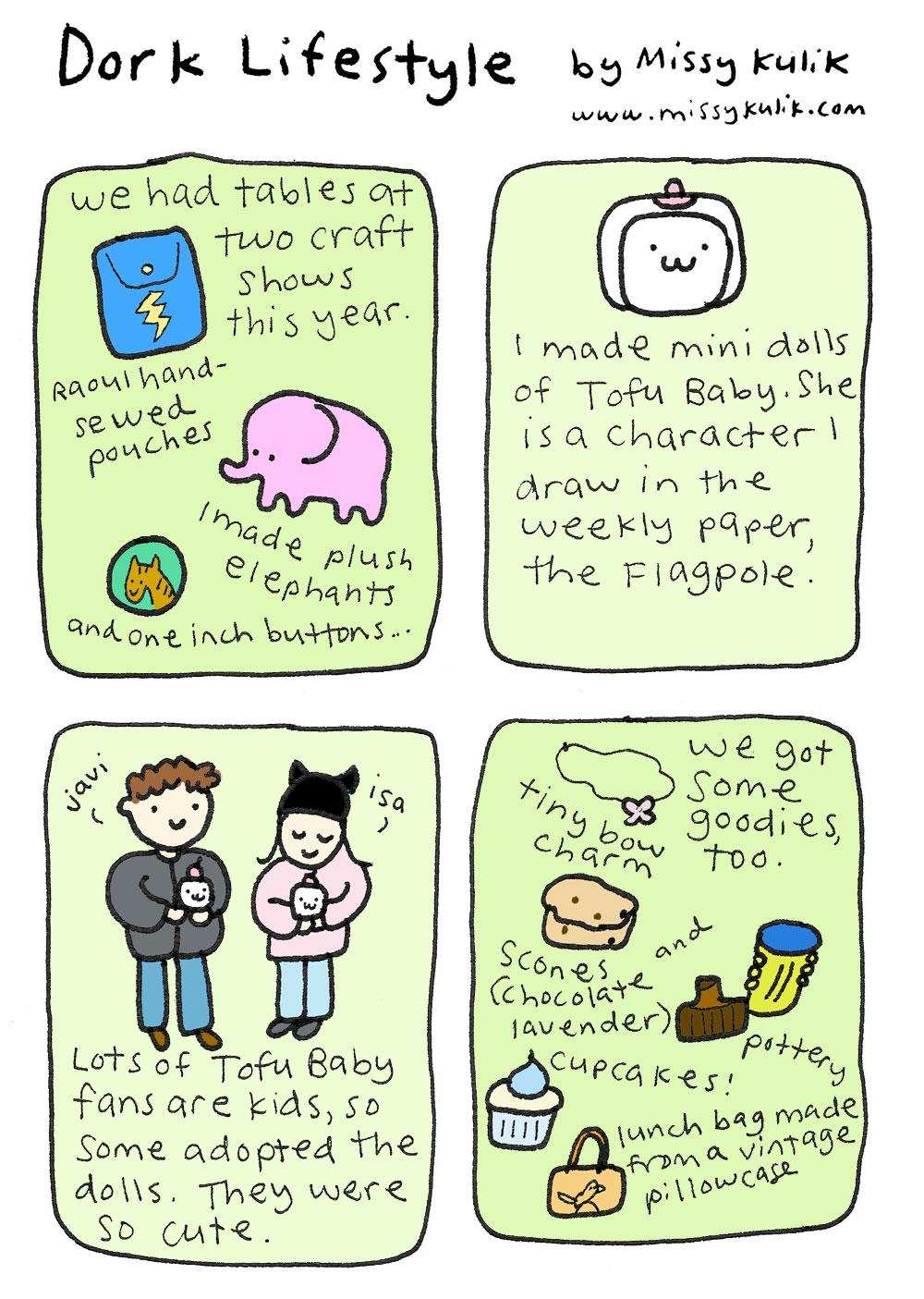 Dork Lifestyle: Tofu Baby's Crafty