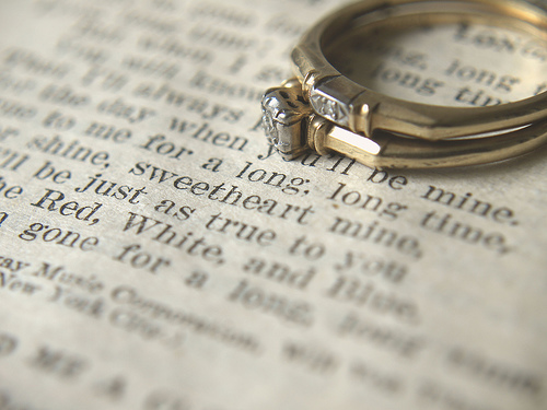 Oh, It's Tuesday: When Do You Take Off Your Wedding Ring?