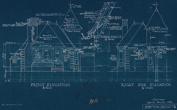 Oh, It's Tuesday: God is in the Blueprints