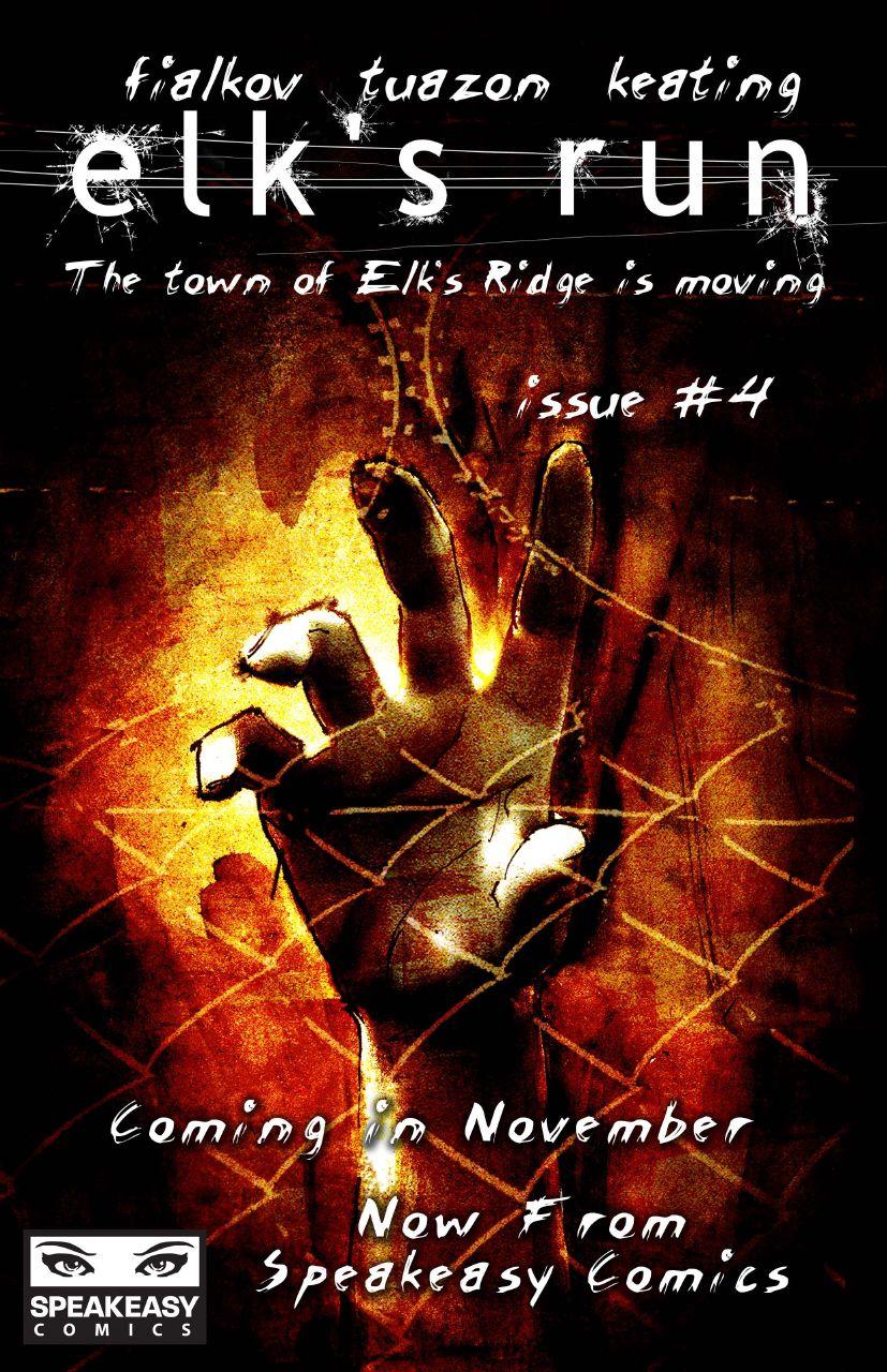 Dear Thursday: ELK'S RUN by Joshua Hale Fialkov [Book 32 of 2010]