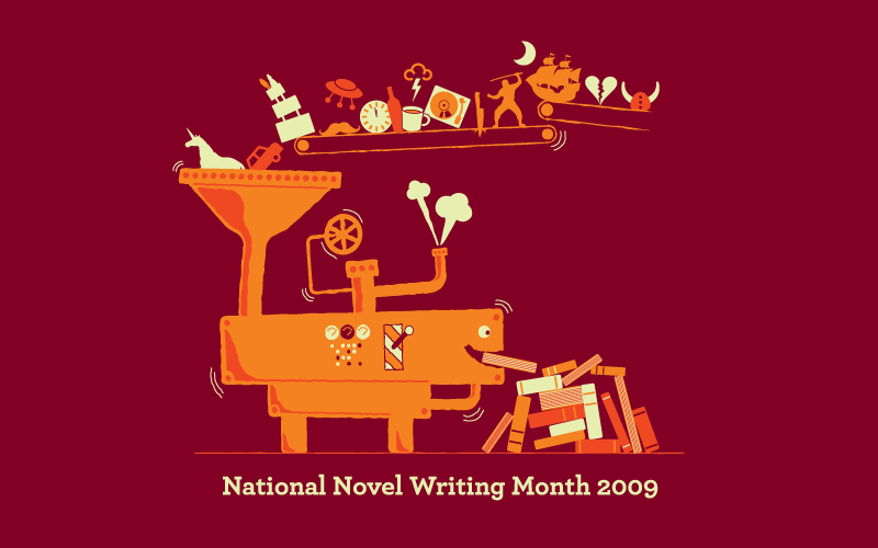 Secret Life of an Expat: NaNoWriMo (2009) Changed My Life