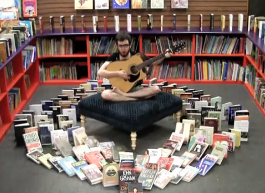 Procrastinate on This! Best Bookstore Ad EVER! [BOOK WEEK 2!]
