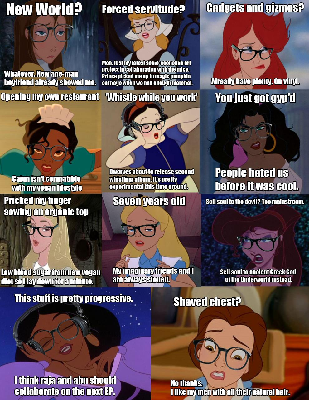 One More Thing Before We Go: Hipster Princesses [BEST OF FaN]