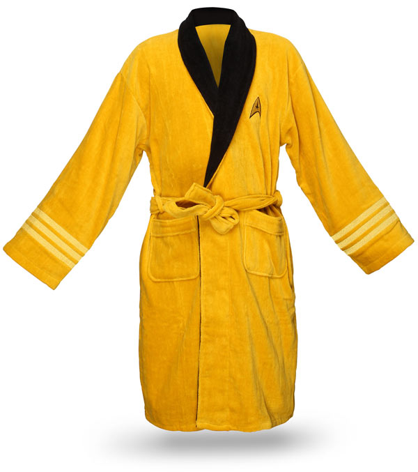 Think Geek Captain Kirk Bathrobe: One More Thing Before We Go [BEST OF FaN]