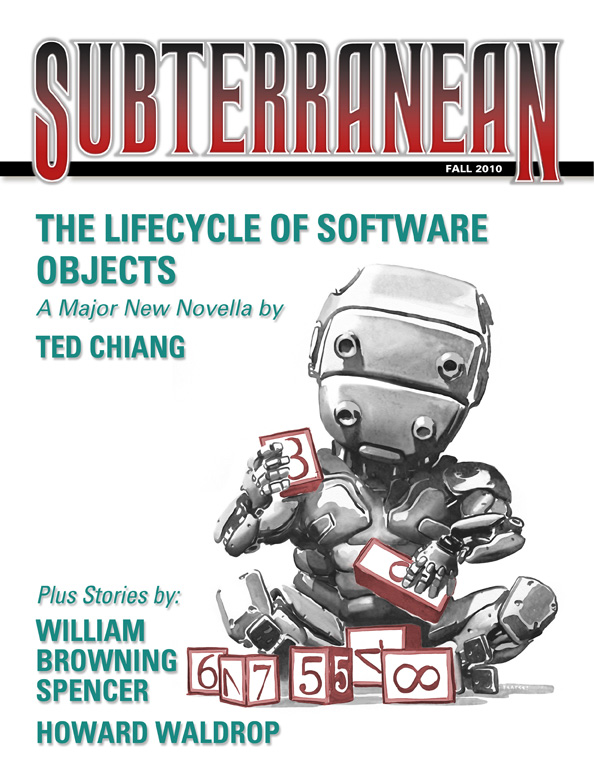 THE LIFECYCLE OF SOFTWARE OBJECTS by Ted Chiang [Book 9 of 2011]