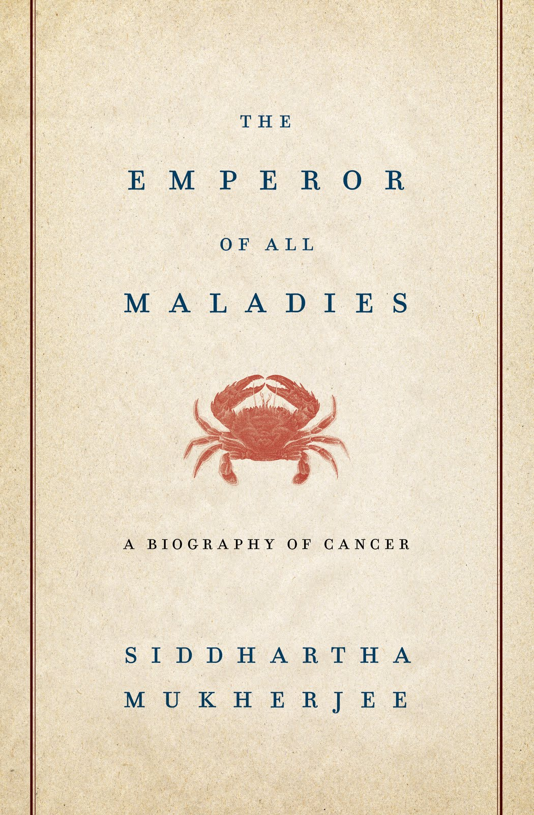 THE EMPEROR OF MALADIES by Siddhartha Mukherjee: Book 15 of 2011 – Dear Thursday [BEST OF FaN]