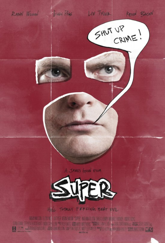Posters and Synopsis for the Movie Super.