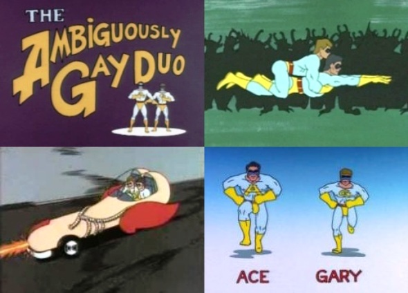 from Antonio name of the ambiguously gay duo car