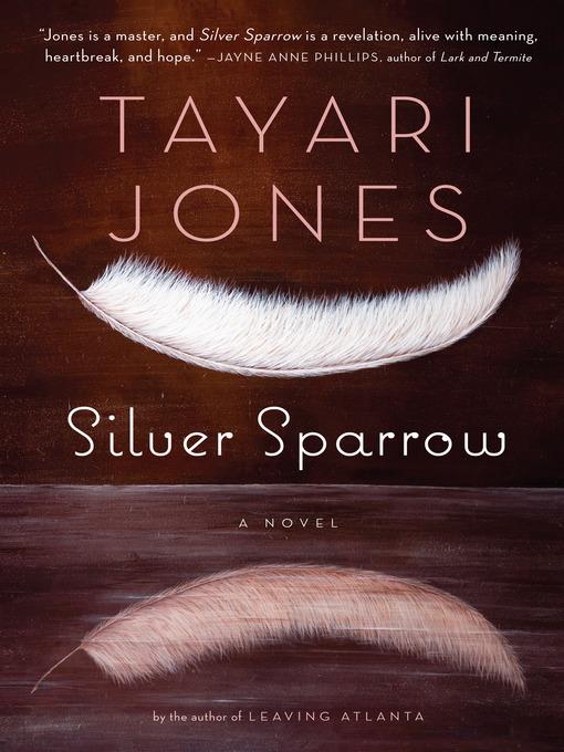 SILVER SPARROW by Tayari Jones: Book 26 of 2011 [Dear Thursday]
