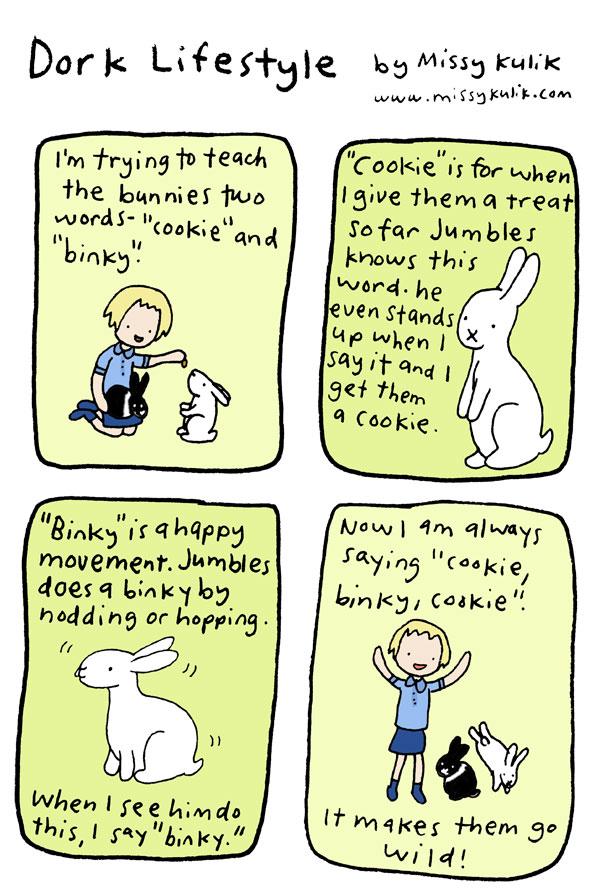 Bunny Speak [Dork Lifestyle #30]