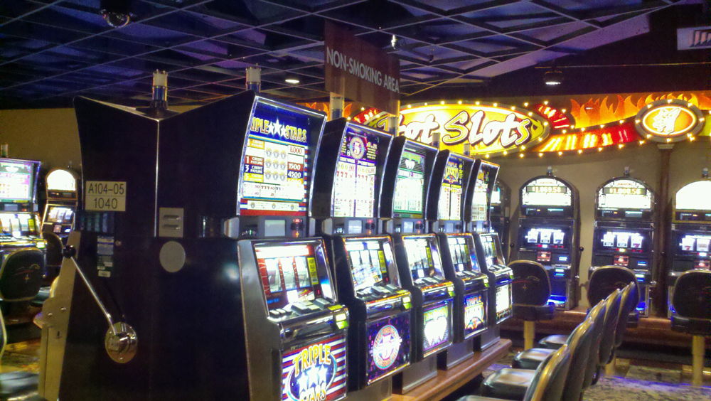 Mohegan sun casino plains pa old style slot machines