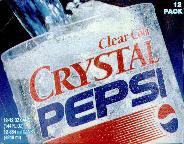 Bring Back Crystal Pepsi [Kicking Back with Jersey Joe]