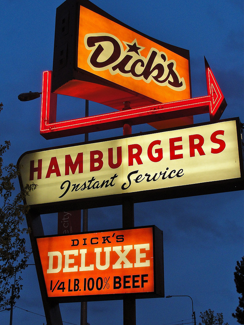 Screw The McRib, I Want A Dick's Burger! [A Tall Glass of Shame]