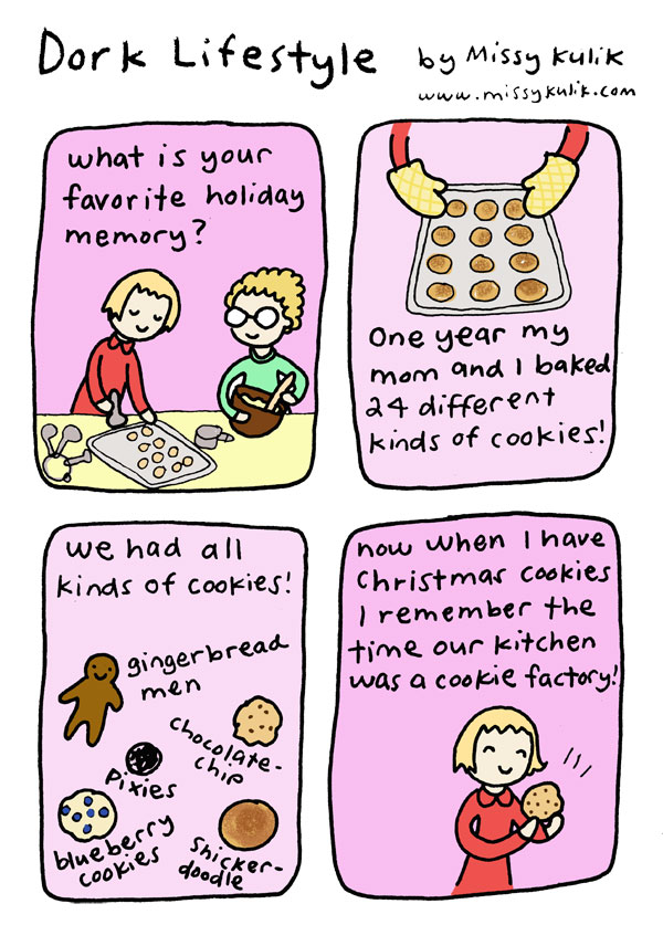 Sweet Holiday Memories [Dork Lifestyle]