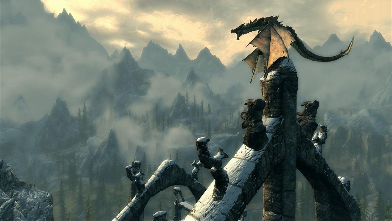 Hunting Elk in Skyrim  [Game On]