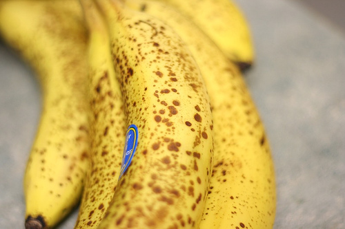 Spotty Bananas Need Love Too [Fierce Foodie]