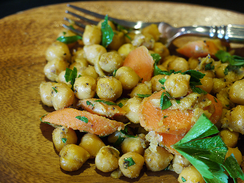 Garbanzos on My Mind, and Sometimes in My Purse [Fierce Foodie]