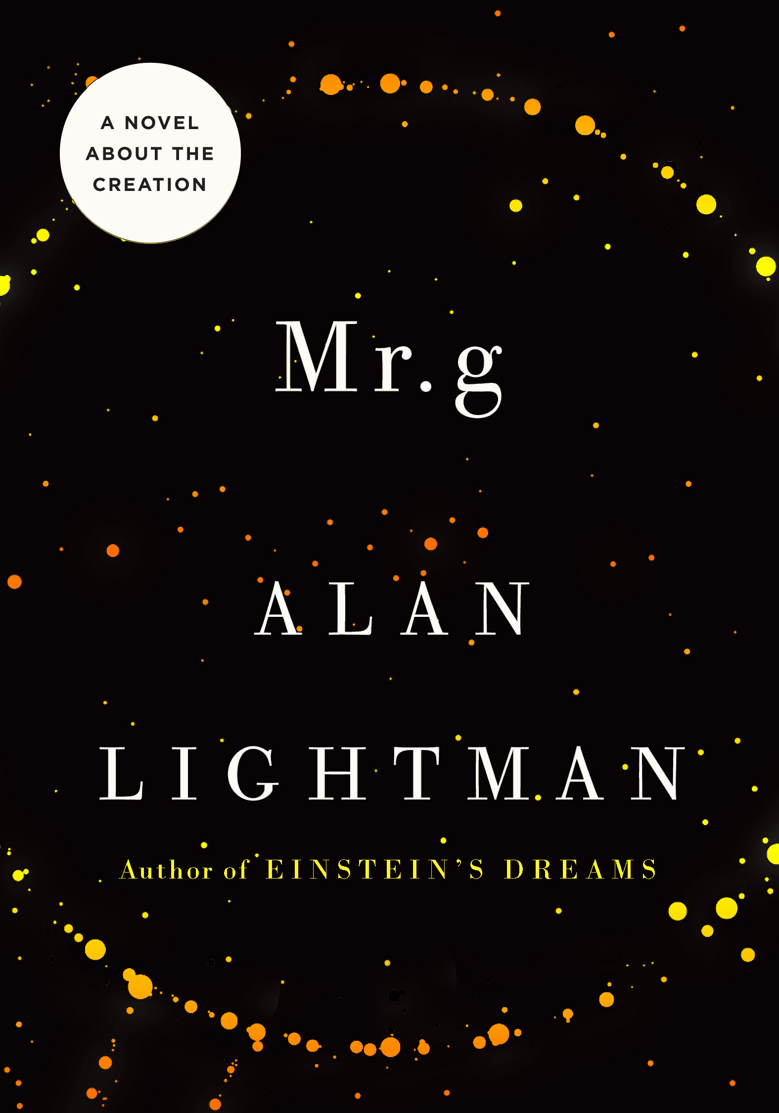 Mr g by Alan Lightman: Book Review [The Ryan Dixon Line]