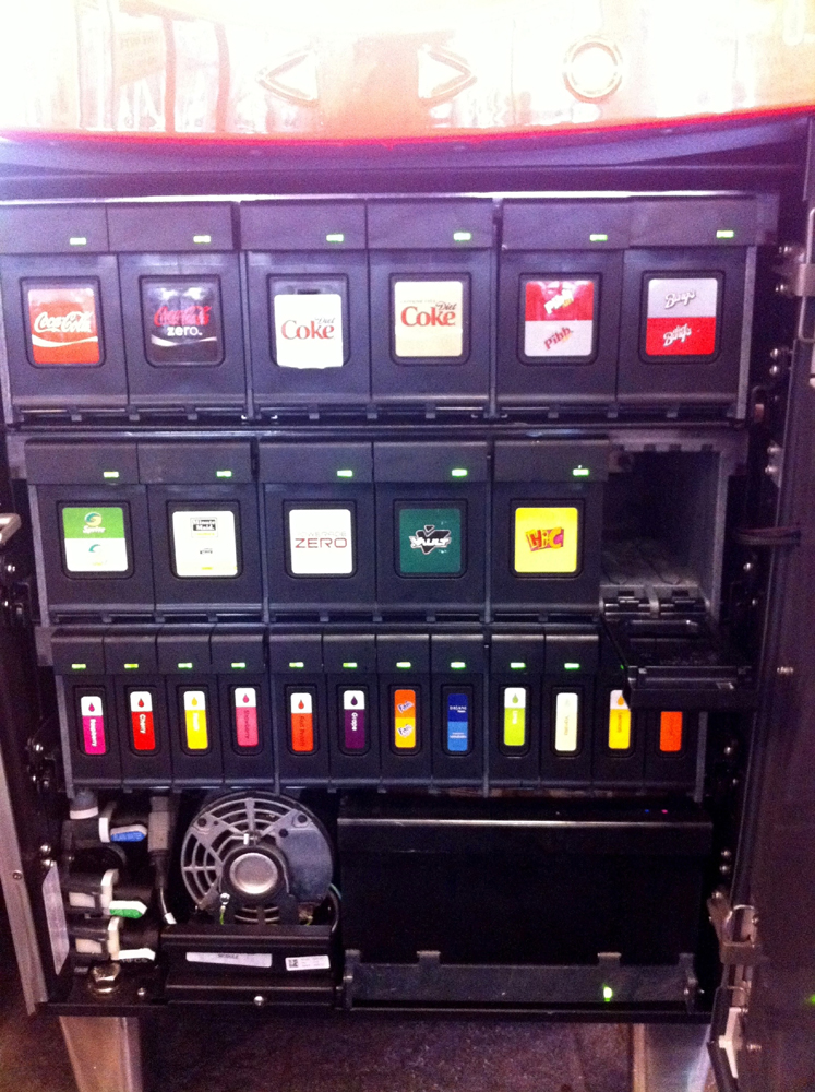 new coca cola freestyle machine