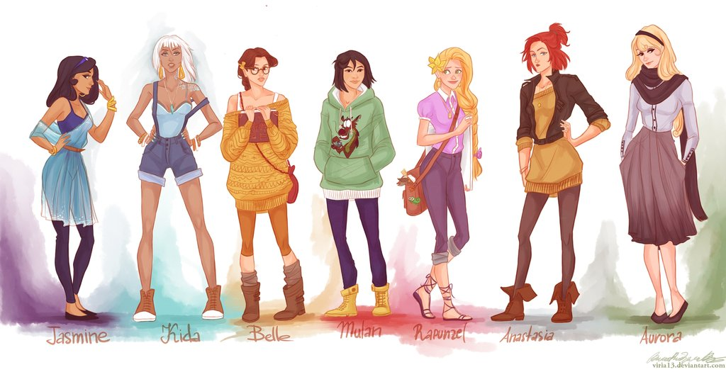 Hipster Disney Princesses – Williamsburg Edition [One More Thing
