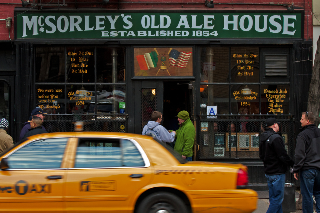 One of America's Oldest Bars, McSorley's Serves Up a Glass of History [Kicking Back with Jersey Joe]