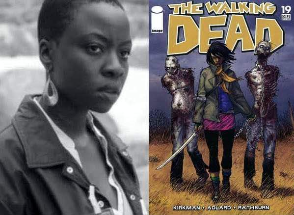 Baby Superheroes and Michonne from THE WALKING DEAD [One More Thing Before We Go] [XXOO]