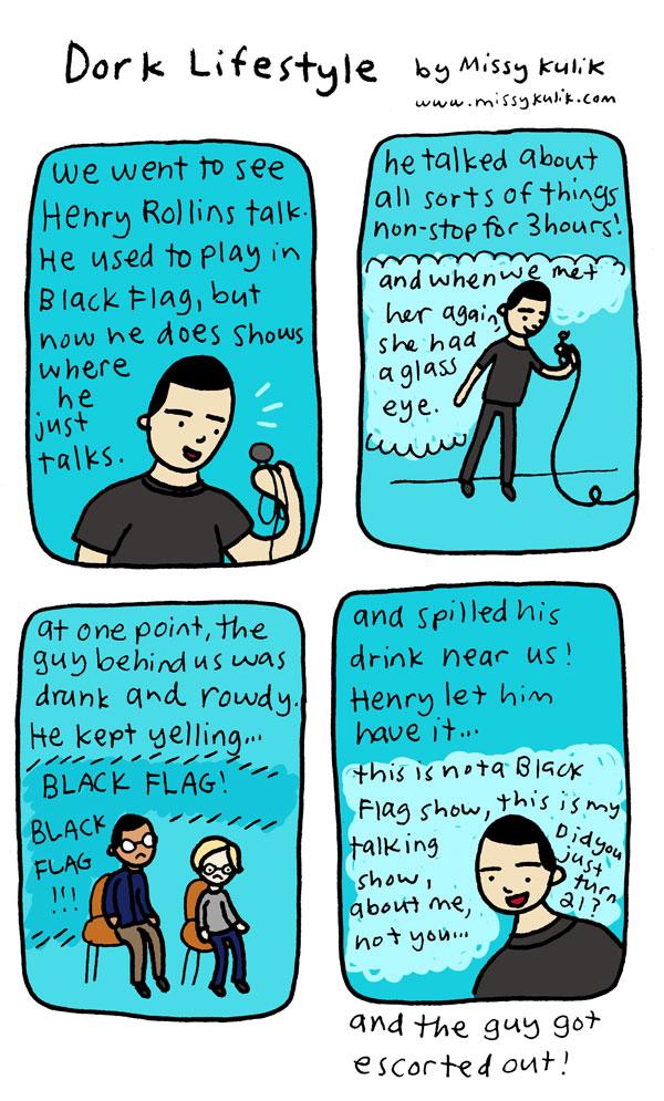 Talking Henry Rollins [Dork Lifestyle]