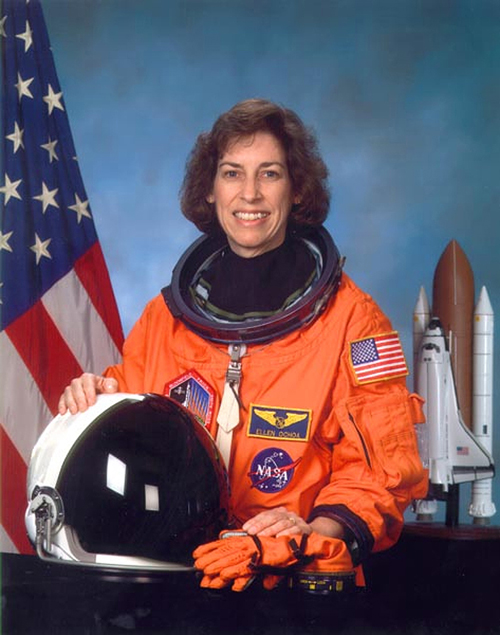 Saturn Earrings -Christa McAuliffe & Astronaut Ellen Ochoa [Nerdy Ish We Found on Etsy] [XXOO]