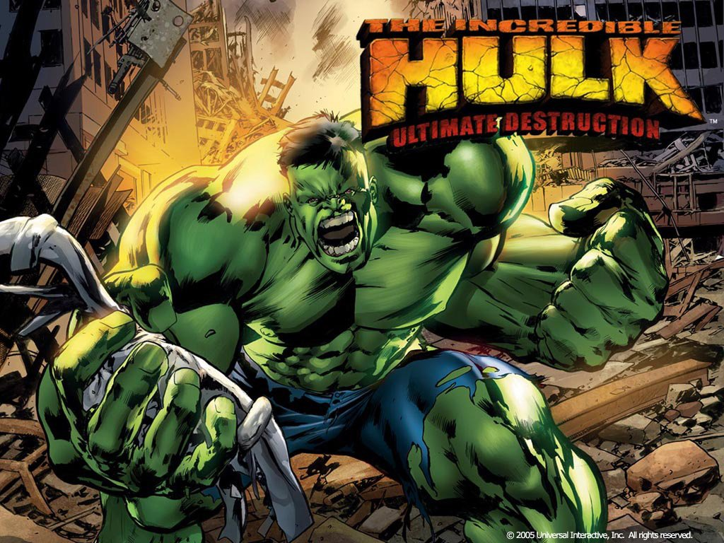 Avengers Throwback The Incredible Hulk Ultimate Destruction Game