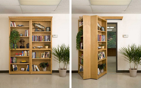 Make Your Own Secret Lair with a Hidden Bookcase – One More Thing Before We Go [BOOK WEEK]
