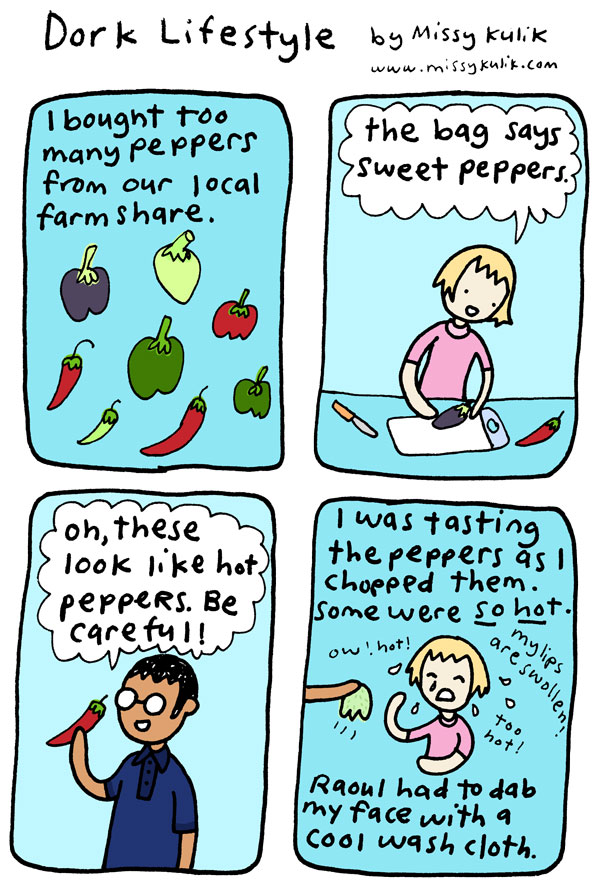 Hot Pepper! [Dork Lifestyle]