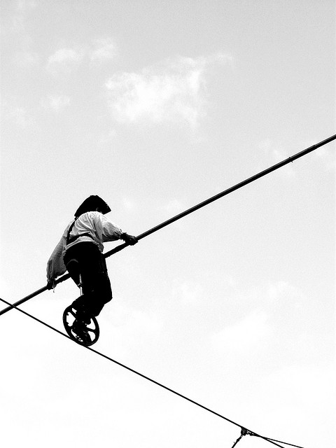 And for my last trick. . . [Nerd on a Wire]