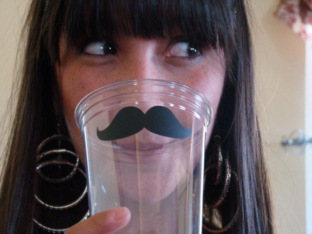 Mustache and Lipstick Party Cups [Nerdy Ish We Found on Etsy]