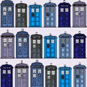 Doctor Who Inspired Fabric [One More Thing Before We Go]