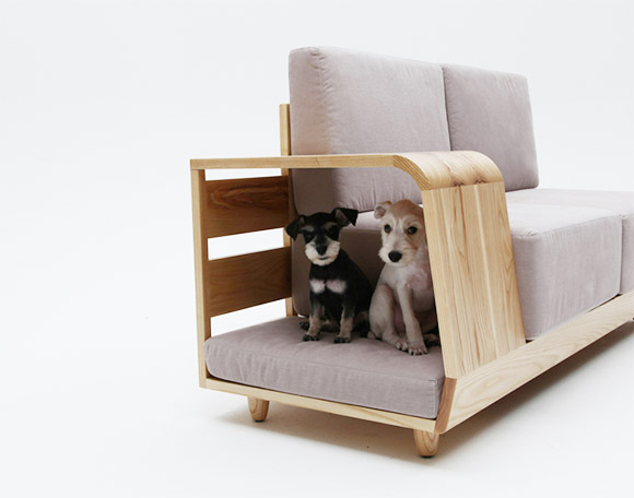 Sofa With Attached Dog House [One More Thing Before We Go]