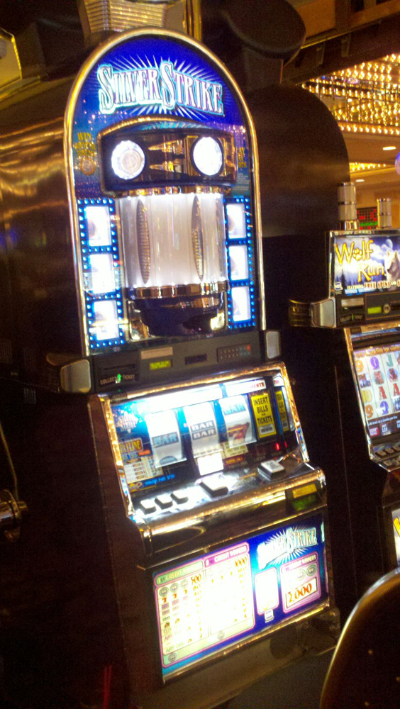 Strikers slot machines stampede casino restaurant