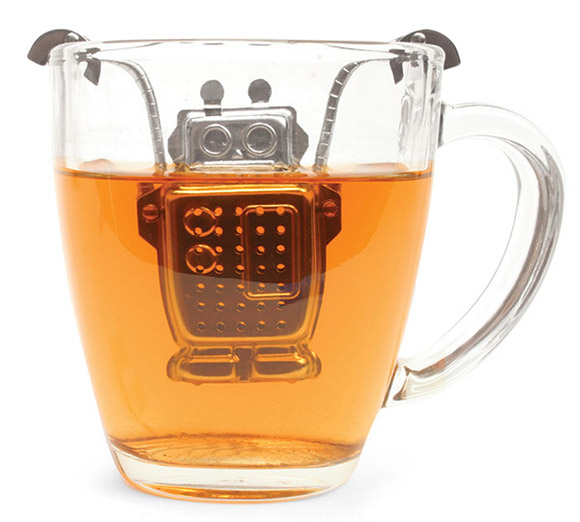 Robot Tea Infuser – One More Thing Before We Go [Nerdy Holiday Gifts 2012]